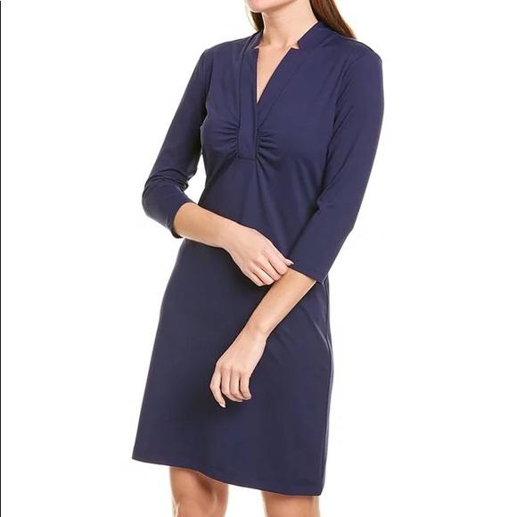 J.Mclaughlin Molly Dress Navy Blue